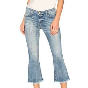 Current Elliott The Cropped Flip Flop Jeans  EUC